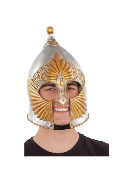 casco de caballero medieval 57/59 cm