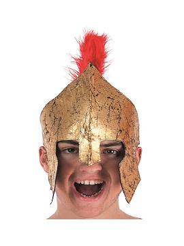 casco de centurion romano con cresta