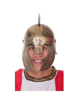 casco de centurion romano dorado