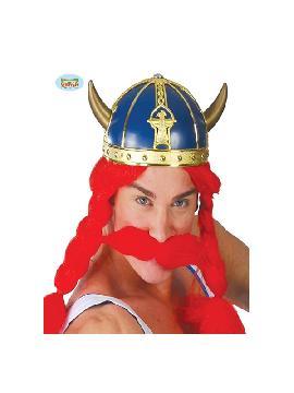casco galo azul adulto