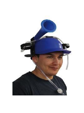 casco para la bebidas y bocina