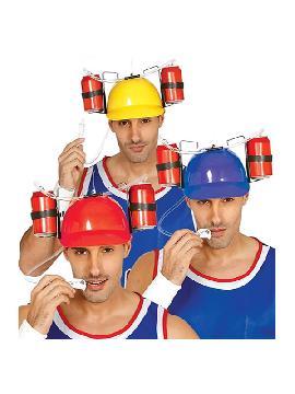 casco porta bebidas adulto
