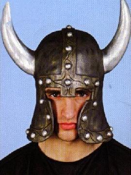 complemento de casco de guerrero