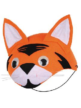 casquete zorro naranja fieltro