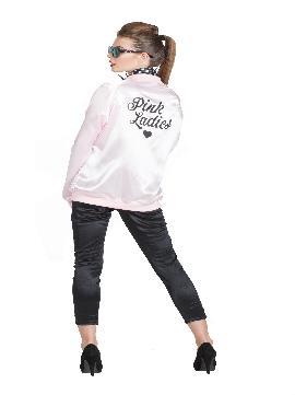 disfraz de chaqueta pink lady mujer