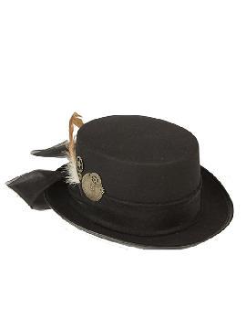 chistera negra steampunk 58 cm