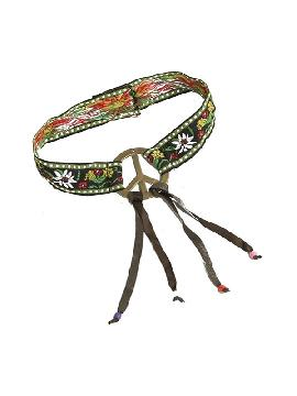 cinta de hippie con flecos