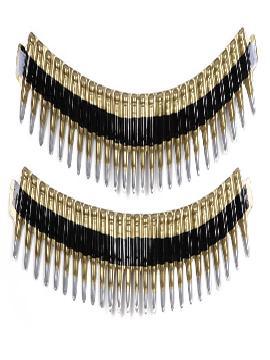cinturón balas pvc 2 partes de 53 cm