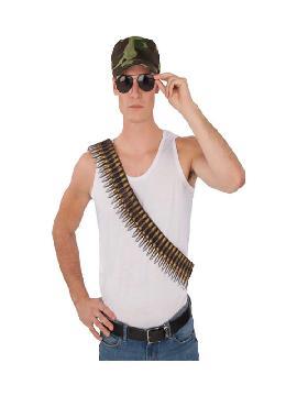 cinturon de balas 136 cm