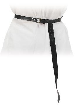 cinturón estrecho medieval polipiel. Comprar vuestros cinturones baratos para grupos. Este complemento es para temáticas de medievales, piratas, corsarios, peliculas... o para vuestros disfraces.