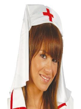 cofia o tocado enfermera tela adulto