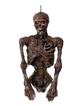colgante de esqueleto con luz