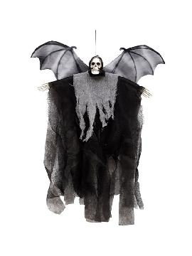 colgante de la muerte con alas de murcielago 67 cm