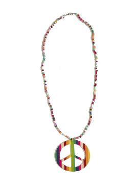 collar de hippie multicolor