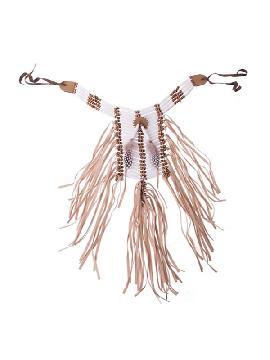 collar de indio blanco
