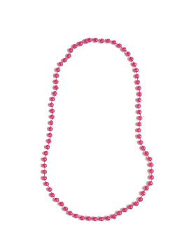 collar de perlas rosa 39 cm