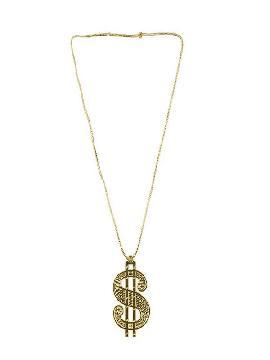 collar del simbolo dolar