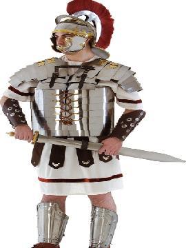 coraza de romano articulada metal