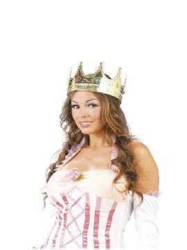corona de reina oro