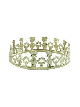 corona dorada de principe medieval metal