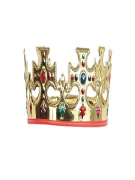 corona rey de plastico barata