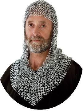 cota de malla medieval para verdugo