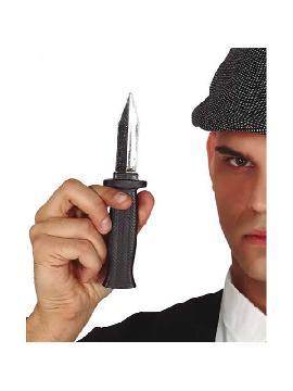 cuchillo retractil de broma 19 cm