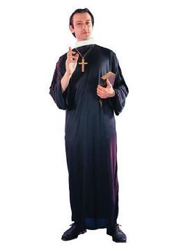 disfraz de cura barato para hombre adulto