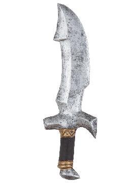 daga de guerrero goma 40 x 13 cm