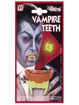 maquillaje dentadura vampiro