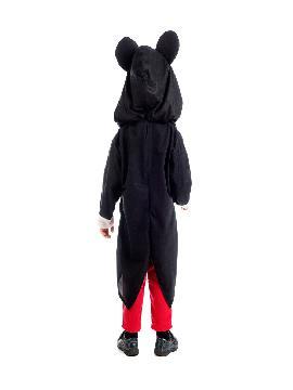 disfraz de ratón mickey niño