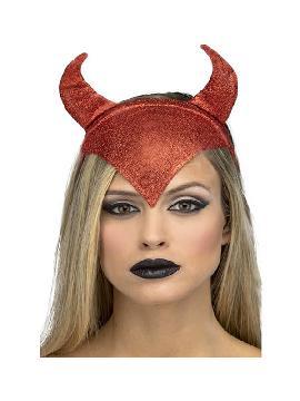 diadema de diablesa roja