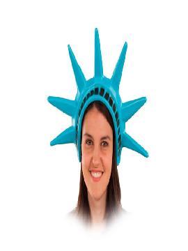 diadema de la estatua libertad