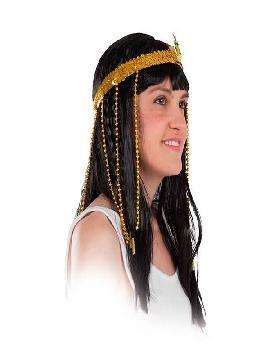 diadema de egipcia dorado