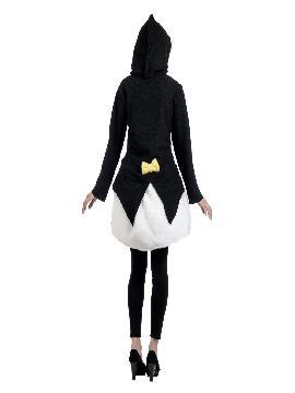 disfraz abrigo de pinguina mujer