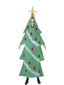 disfraz arbol navidad infantil