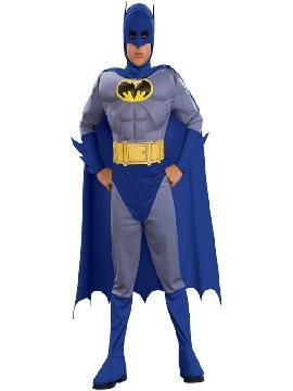 disfraz batman brave the bold musculoso niño