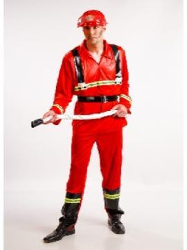 disfraz bombero barato hombre