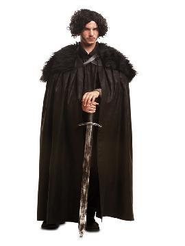 disfraz capa de Jon snow juego de tronos hombre