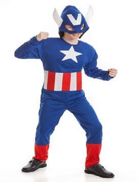 disfraz capitan america barato nino