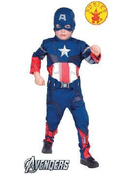 disfraz capitan american classic infantil varias tallas. Te convertirás en un auténtico superhéroe dispuesto a acabar con el crimen. Con tu escudo acabarás con todos los villanos en Fiestas Temáticas.