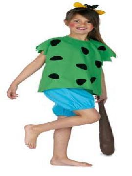 disfraz cavernicola pebbles niña