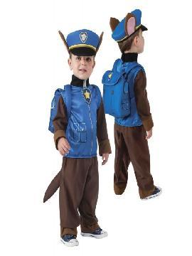 disfraz de chase de patrulla canina para niño