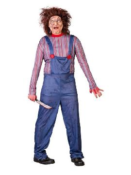disfraz chucky muñeco hombre