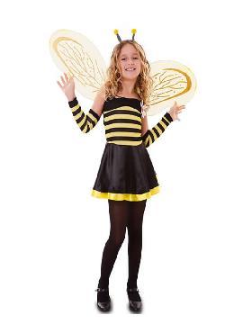 disfraz de abejita con alas para niña