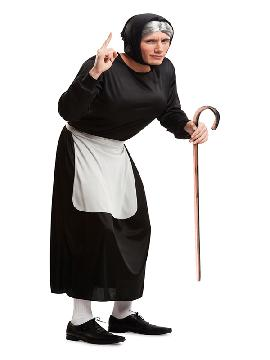 disfraz de abuelita adorable para hombre