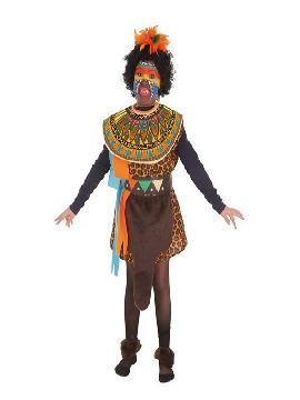 disfraz de africana para niña