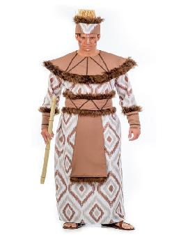 disfraz de africano deluxe hombre