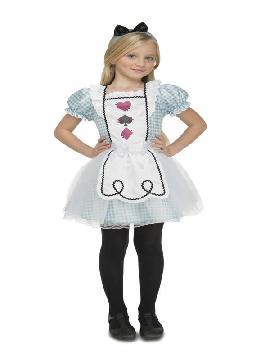disfraz de alicia en el pais de las maravillas niña