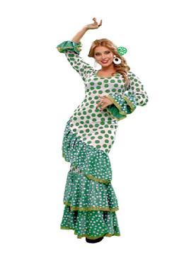 disfraz de andaluza solea mujer. Con tu cuerpo moreno podrás bailar al ritmo de las palmas en las fiestas de carnaval, en la feria de abril, despedidas de soltera o cualquier fiesta flamenca. Este disfraz es ideal para tus fiestas temáticas de disfraces de sevillana,flamencas y andaluzas adultos.